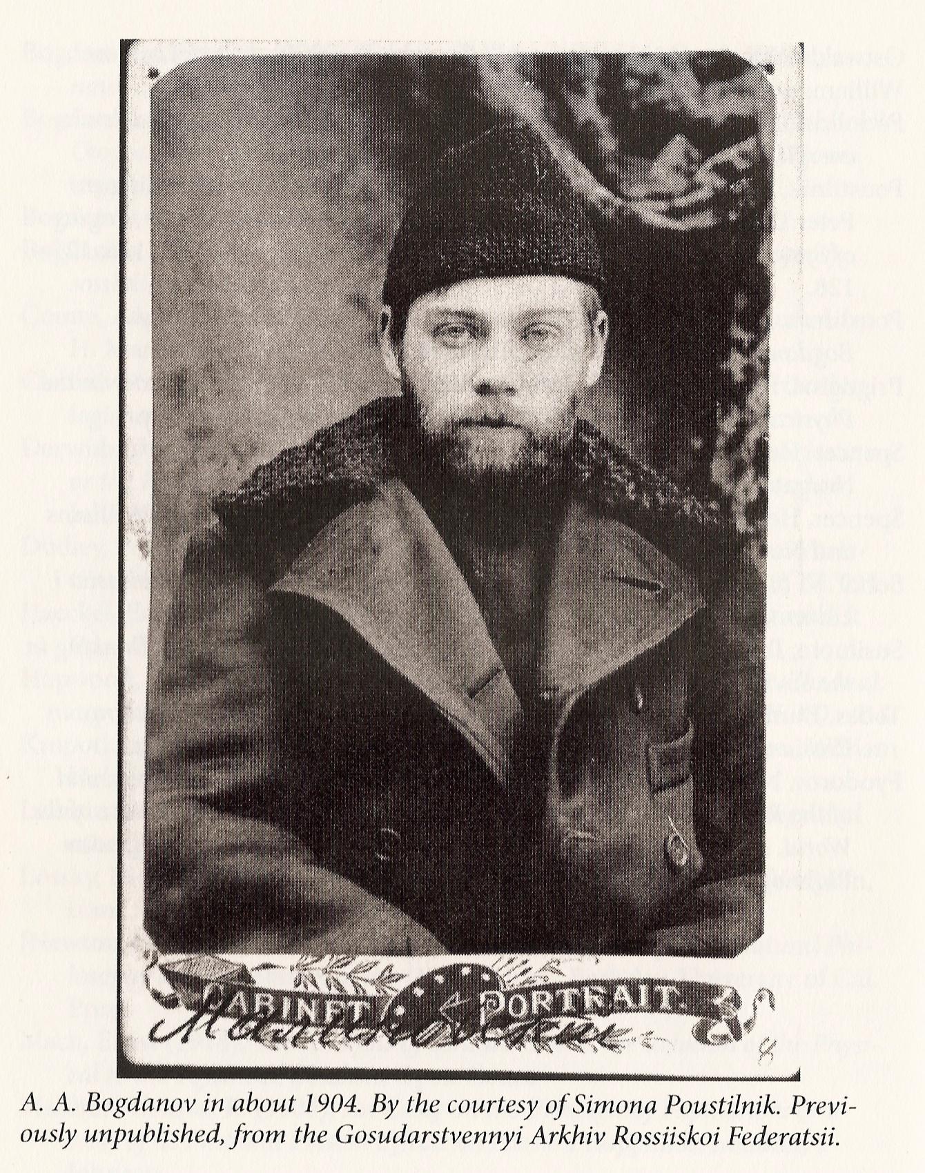 Alexander Bogdanov in 1904